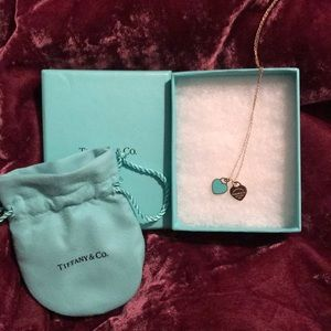 Tiffany & Co. Mini Double Heart Pendant